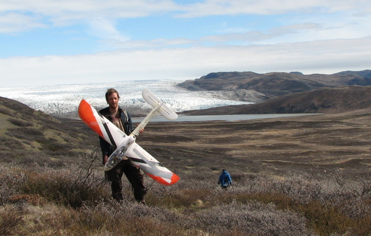 Penn State graduate student Jeff Kerby used drones for his ecological research in Greenland and is sharing his expertise to enhance research and conservation efforts worldwide. Image: Martin Holdrege